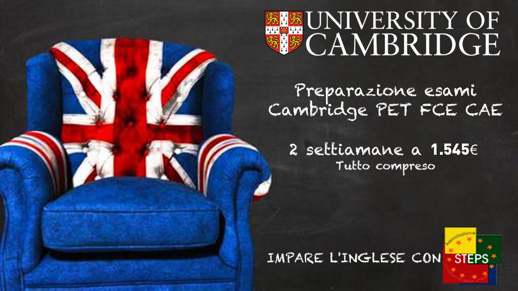 corso di inglese per Esame Cambridge